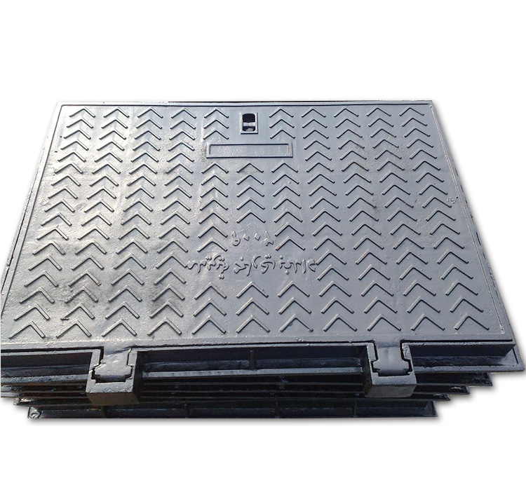 600*800 Square Cast Iron Manhole Cover