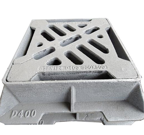 300*300 Cast Iron D400 Square Grating Covers