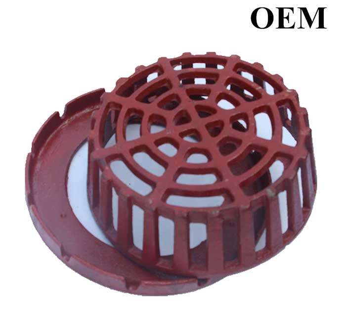 Cast Iron Roof Dome, Cast Ductile Iron Roof Drain